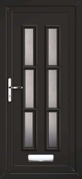 black upvc front doors coloured upvc doors