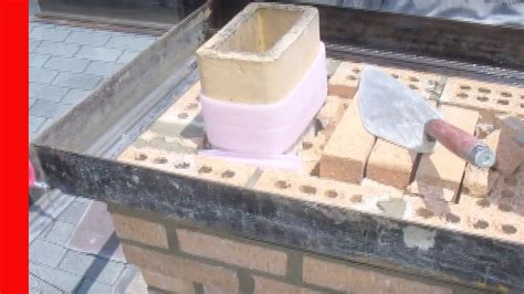 Fireplace Repair Cement by Repairing A Chimney Crown