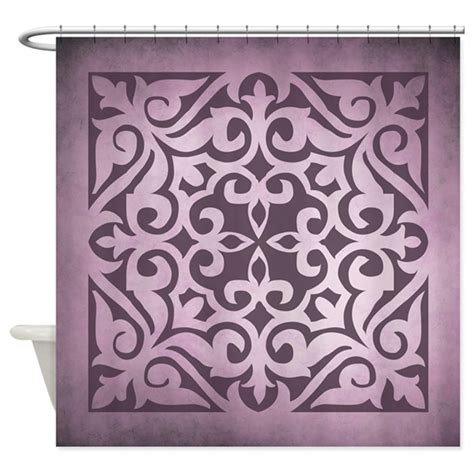 Plum Shower Curtain By Rockinmoroccan