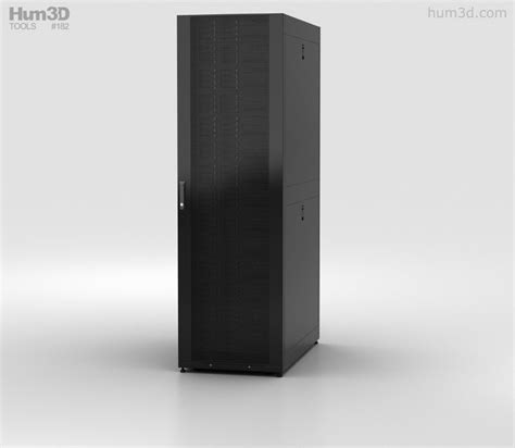 Server Rack 3d Model Free server rack 3d model electronics on hum3d