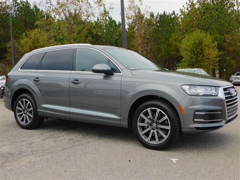 Pre Owned Audi Q7 by Certified Pre Owned 2018 Audi Q7 Premium Plus Sport