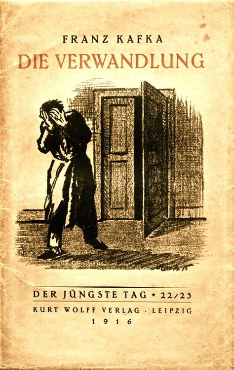 die verwandlung german edition books original copy of the metamorphosis by franz kafka 1916