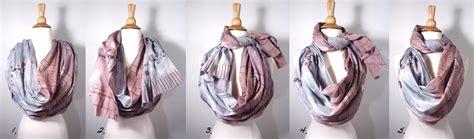 how to tie an infinity loop scarf как завязать палантин на куртку как красиво завязать