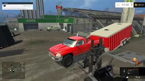 cummins pickup bed log truck for fs15 farming simulator farming simulator 2015 mods 95 dodge 12v cummins
