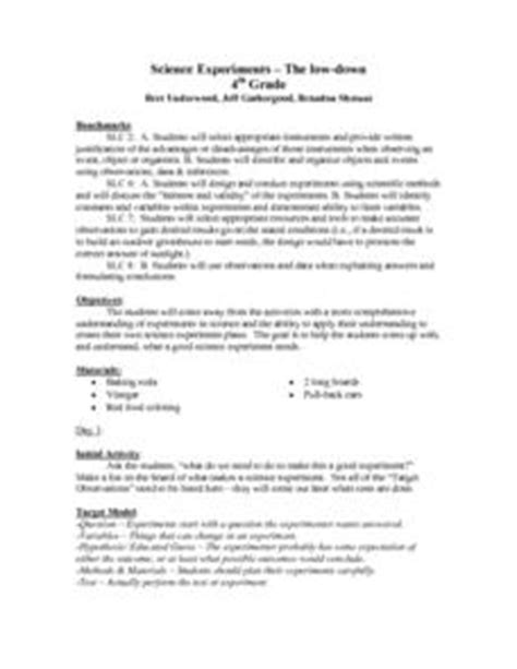 new year lesson plans 5th grade science experiments the low 4th grade lesson plan