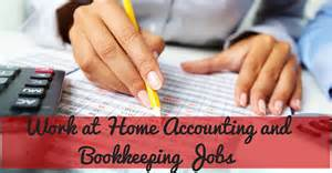 work from home accounting work at home accounting and bookkeeping
