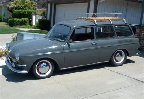 Volkswagen Square Back by Type Iv Powered 1967 Volkswagen Squareback Bring A Trailer