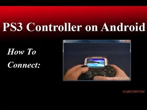 how to use ps3 controller on android how to connect a ps3 controller to your android phone easy