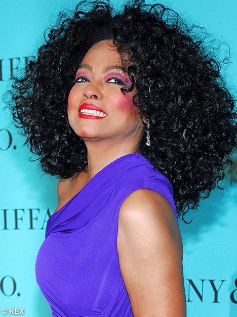 Diana Ross Gets Supremely Carried Away With The Make Up Brush by Diana Ross Gets Supremely Carried Away With The Make Up