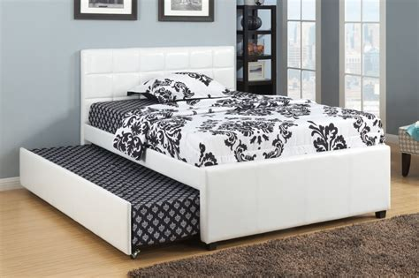 queen size bed with twin trundle new as twin bed with