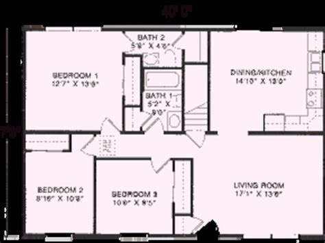 floor plans for 1100 sq ft home ranch house plans 1100 sq ft house home plans ideas picture