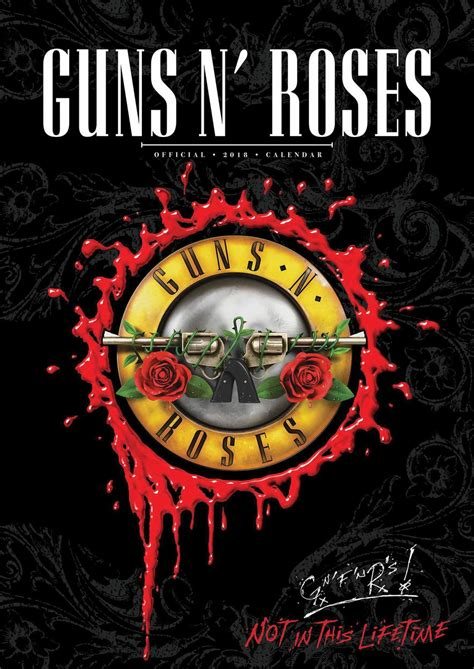 guns n roses calendars 2018 on europosters