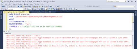 format file for csv bulk insert the art of business intelligence