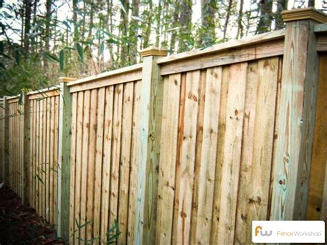 Cost Of Backyard Fence by The Mcworter Wood Privacy Fence Pictures Per Foot