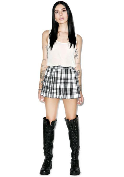 tripp nyc micro mini pleated skirt dolls kill