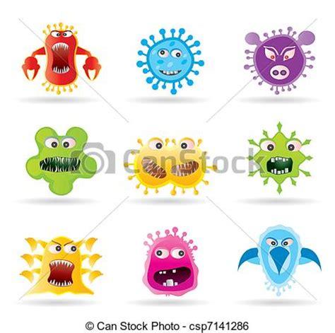 vire clipart 虫 細菌 ウイルス アイコン 虫 細菌 そして ウイルス アイコン ベクトル イラスト