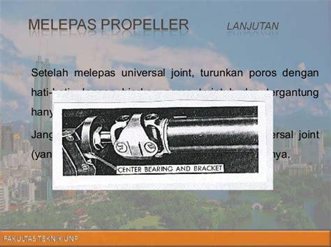 Tutup Trunion presentasi propeller shaft