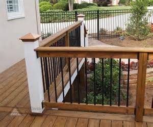 Design For Metal Deck Railings Ideas Best 25 Deck Railing Design Ideas On Deck Railings Railings For Decks And Wood