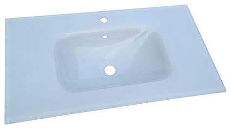 le à poser 1181 plan vasque en verre pas cher