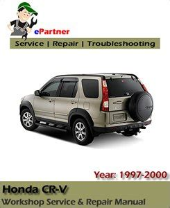 old car owners manuals 1997 honda cr v electronic throttle control honda crv cr v factory service repair manual 1997 2000 automotive service repair manual