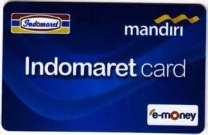Indomaret Card Etoll Card bank card indomaret card bank mandiri indonesia col id un 0027