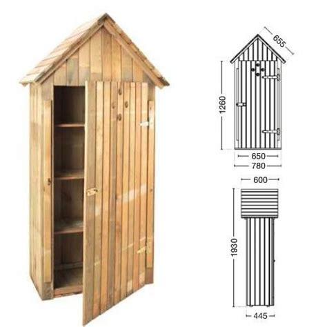 armario de madera de jardin wissant por  en planeta huerto