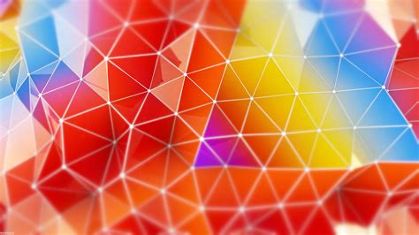 imagenes 4k wallpaper abstract wallpaper abstract colorful triangles 4k abstract 1010