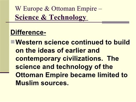 ottoman empire technology ottoman empire science and technology islam today is