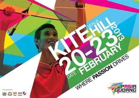 graphic design pasir gudang pasir gudang international kite festival advertising on