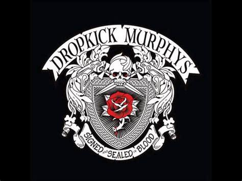 dropkick murphys signed sealed  bloodfull album