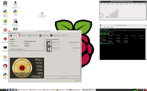 qt programming on raspberry pi ann jpc make jackpotcoin great again