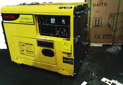 Harga Genset Matrix silent diesel generator dg 6700 se genset silent dg