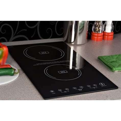 cooking with an induction cooktop summit sinc2220 12 quot induction cooktop with 2 cooking zones