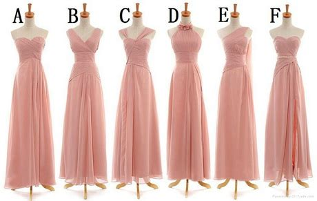 0991 chagne 6 styles short pleated zipper bridesmaid party dress styles