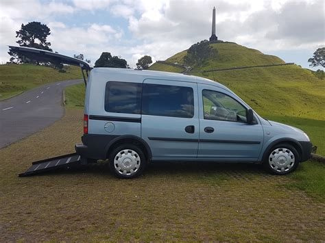 vauxhall combo vauxhall combo wheelchair accessible vehicle with r