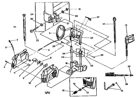 craftsman 1800 psi electric pressure washer parts wiring