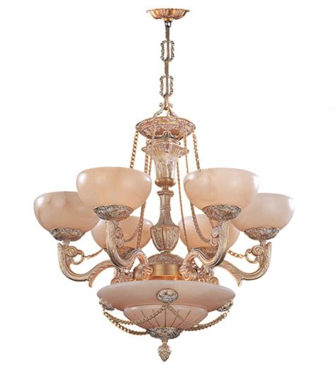 Alabaster Chandelier Lighting Crystorama Bravado Alabaster 9 Light Chandelier In White 966 Wh