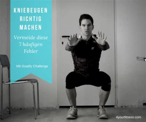 Kniebeugen Richtig Machen Vermeide Diese 7 H 228 Ufigen Fehler