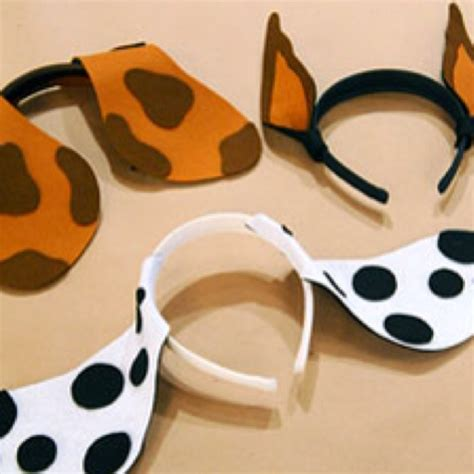 puppy ears headband felt ear headbands s puppy