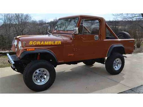 vintage jeep scrambler classifieds for classic jeep cj8 scrambler 15 available