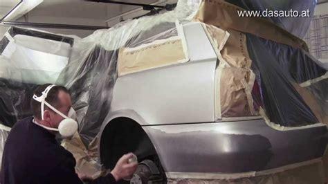 Auto Lackieren Tutorial by Tiefe Kratzer Und Schrammen Am Autolack Selbst Reparieren