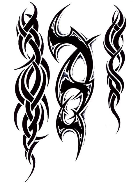 dark tribal tattoos 53 tribal designs