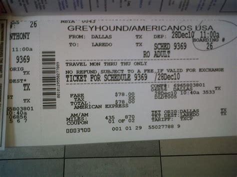 printable bus tickets greyhound bus ticket dallas to laredo texas koogmo