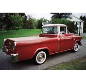 1956 GMC SUBURBAN 1/2 TON PICKUP  Rear 3/4 61634