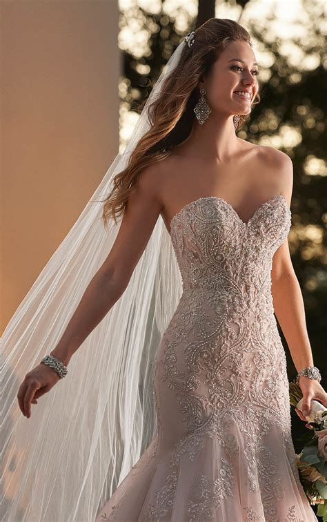 wedding dresses sexy wedding dress  sheer bodice