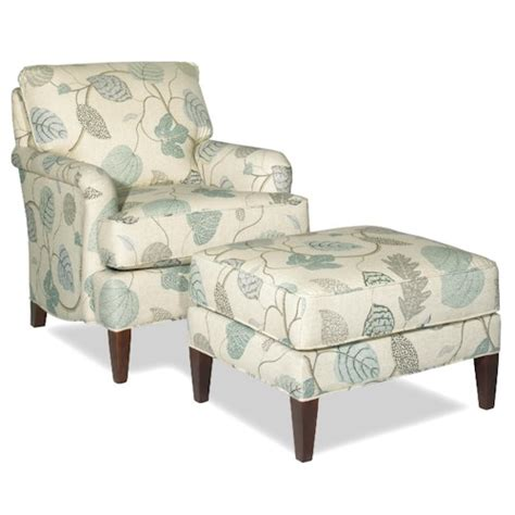 craftmaster accent chairs transitional chair  ottoman