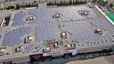 Solar L Post Canadian Tire by Top 50 Socially Responsible Corporations 2014 Macleans Ca