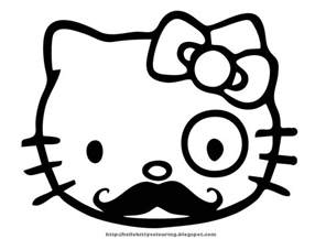 kitty coloring pages wallpapers