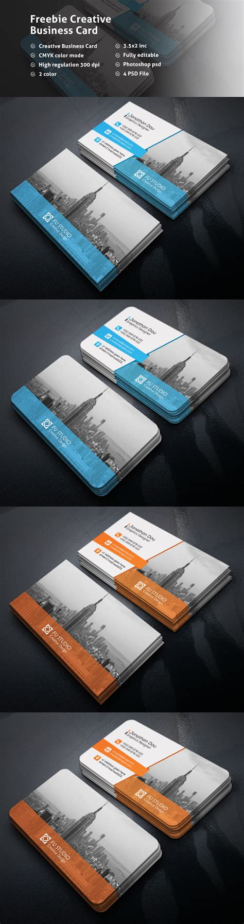 business card template psd behance freebie creative business card on behance