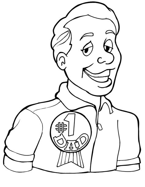 coloring pages for fathers day fathers day coloring pages 1 coloring kids